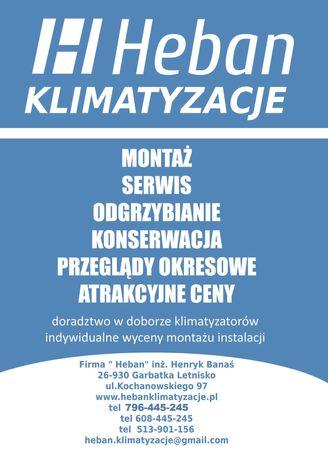 Montaż klimatyzacji Warszawa Piaseczno Konstancin Kobyłka Wołomin