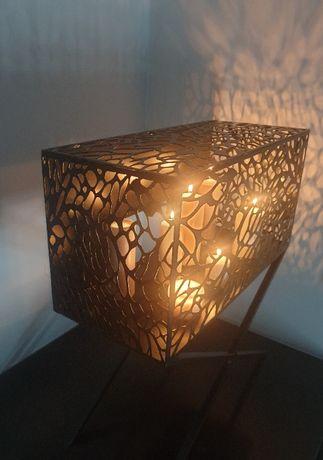 Kominek na świece