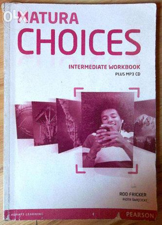 Matura Choices Intermediate Workbook + CD, Fricker, Święcicki