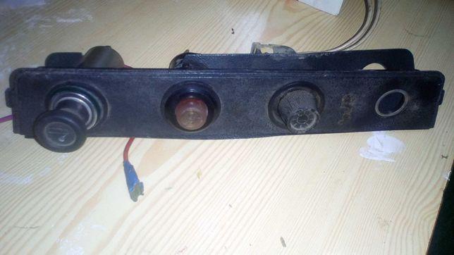 Панель прикуриватель аварийка яркость приборной панели ВАЗ 2106