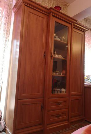 Szafa stojąca wysoka jakość płyta z półkami i szufladami