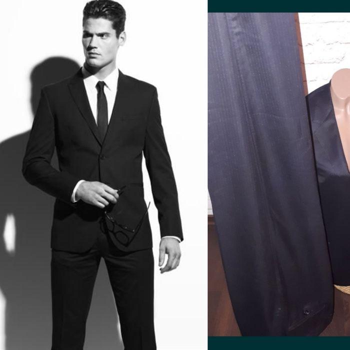 Костюм Versace оригинал брендовый шерсть  пиджак брюки мужской свадьба Коцюбинское - изображение 1