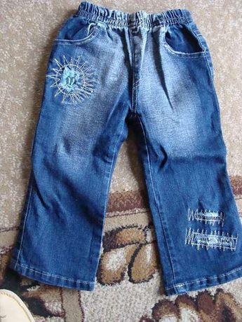spodnie dziewczęce dźinsowe na 98 cm