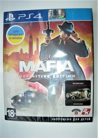 Mafia Definitive Edition (РS4). Новые Диски, русские