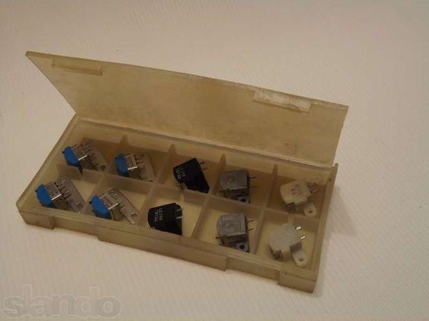 Головки универсальные и стирающие для магнитофонов.