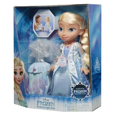 Lalka Elsa Elza na baterie
