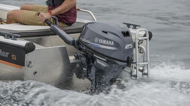 Silnik Zaburtowy Spalinowy YAMAHA F25GMHL