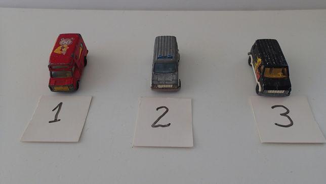 Miniaturas Majorette Vans