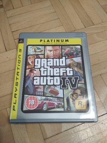 Gra Grand Theft Auto IV PLATINUM PS3
