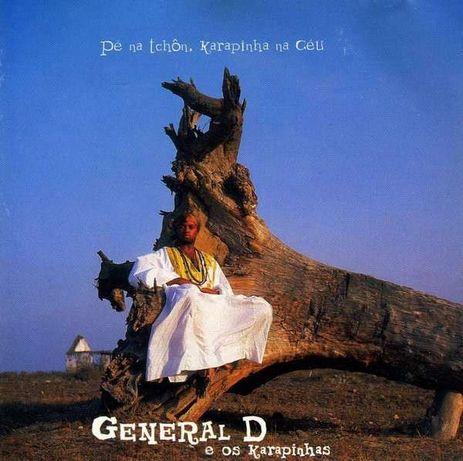 General D e Os Karapinhas – Pé Na Tchôn, Karapinha Na Céu - CD SELADO