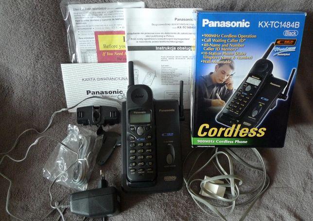 Telefon bezprzewodowy Panasonic KX-TC1484B