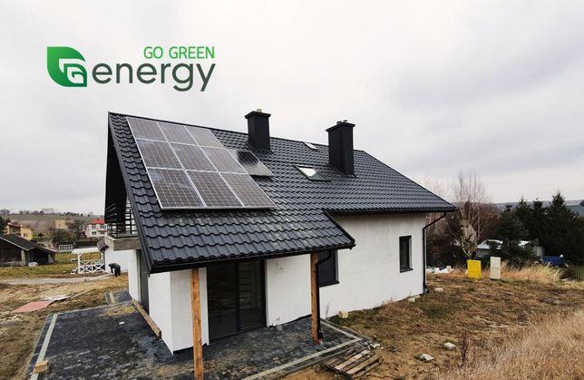 FOTOWOLTAIKA instalacja fotowoltaiczna 5KW z montażem panele solary