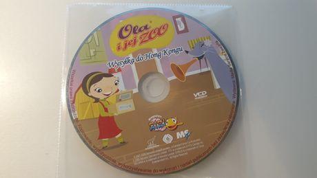 VCD Ola i jej zoo. Wysyłka do Hong Kongu. Mini Mini. bajka dla dzieci.