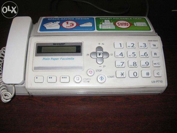 Telefax Sharp UX-P710 fax telefon