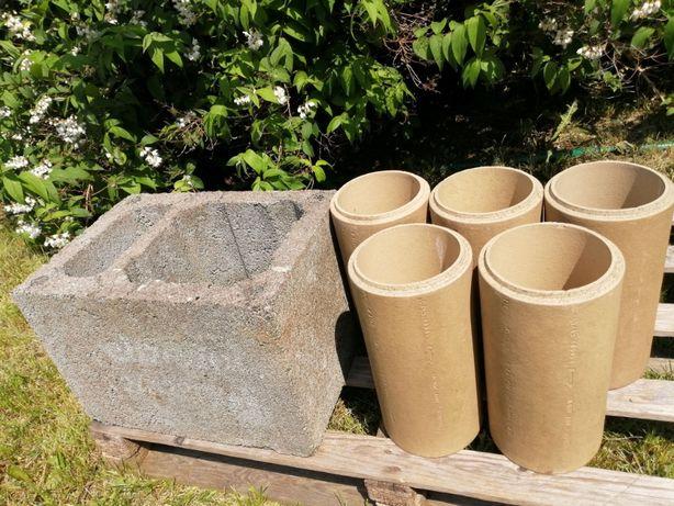 Komin Schiedel - Wkłady ceramiczne fi 200 i pustak 50×36