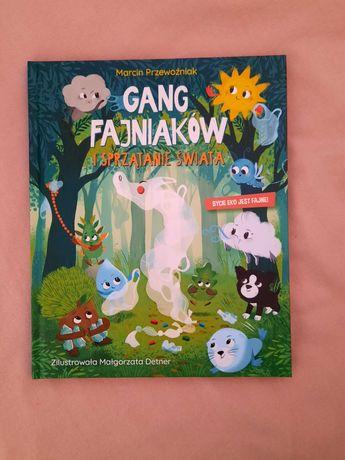 Książka gang fajniaków. Sprzatanie świata