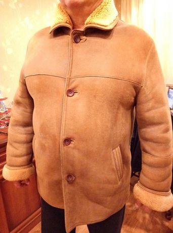 Мужская дубленка натуральная куртка