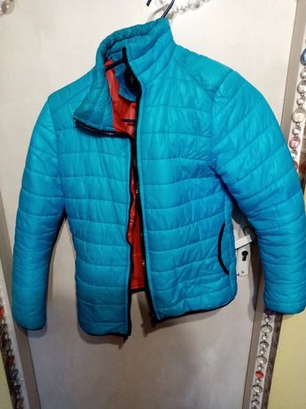 Niebieska kurtka