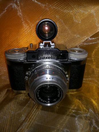 """Câmera """"Braun Super Paxette"""" - 1953 + Medidor luz + Lente auxiliar"""
