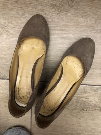 Туфлі сірі santini