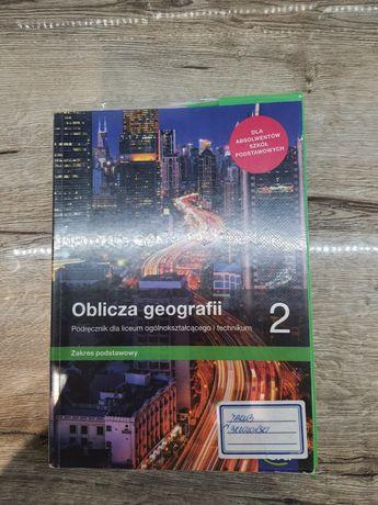 Podręcznik klasa 2 liceum Oblicza geografii 2