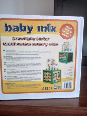 Drewniany Sortet baby mix