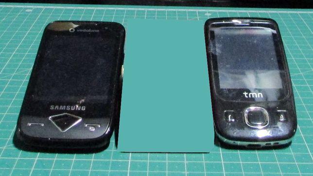 telemóveis para peças
