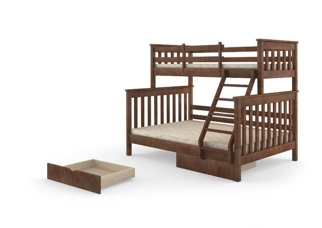 Двухъярусная кровать Скандинавия 140/90/200. Новая Доставка бесплатно.