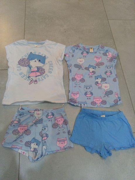 Pizamka, Piżamki, C&A, piżamka 116 cm, zestaw ubranek