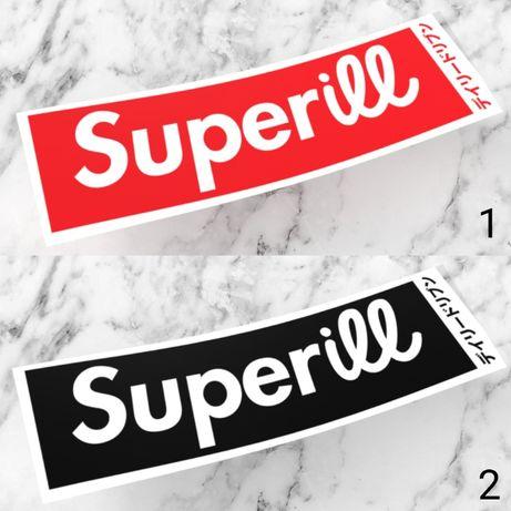 Naklejki SUPERILL wlepki nalepki supreme super street drift slap bmw