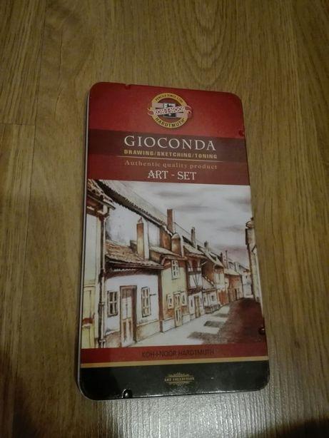 Koh i noor Gioconda art set, pastele suche, kredki węglowe, wiszer