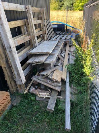 Drewno po budowie