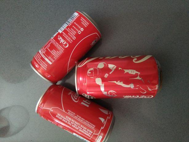 Latas Coca Cola - Importadas