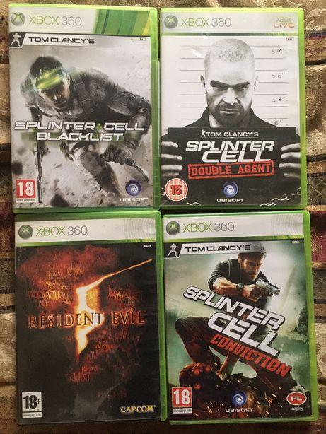 Cały zestaw gier Xbox 360