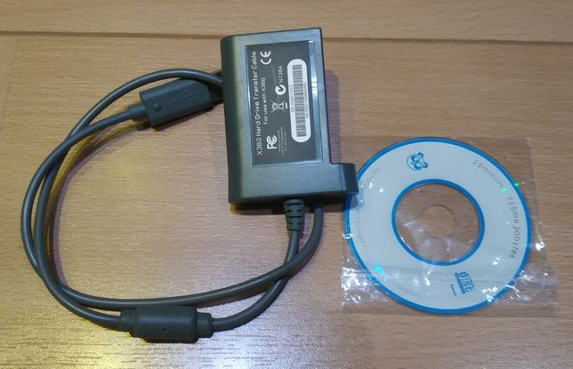 Cabo adaptador HDD xbox 360 Fat