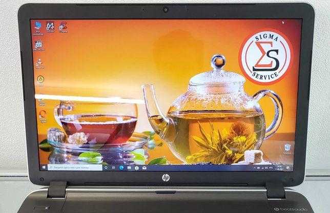 """Большой 17.3"""" современный ноутбук HP 17-g для работы, интернета, видео"""