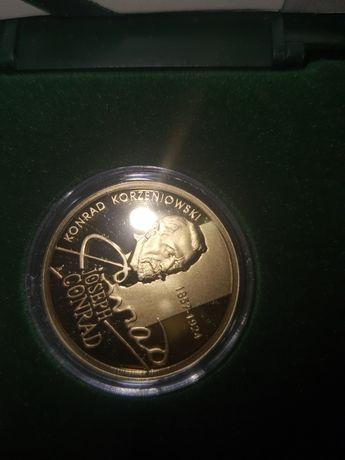 Sprzedam złotą monetę Konrad Korzeniowski