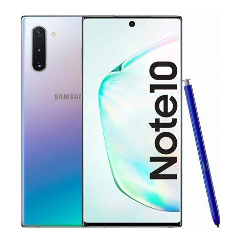 Samsung Note 10 Prateado Aurea 256G