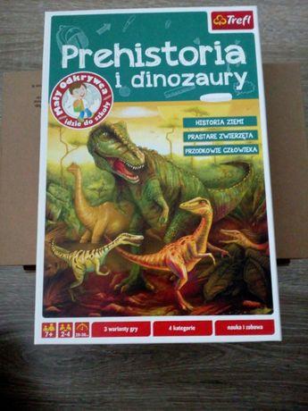 Gra Prehistoria i dinozaury Trefl