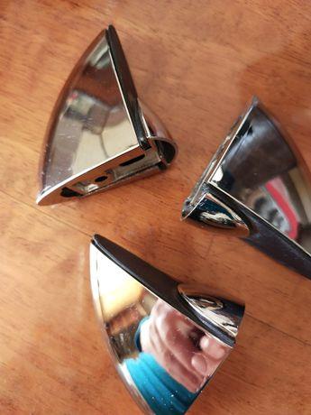 хромированные  Пеликаны  для стеклянных полочек