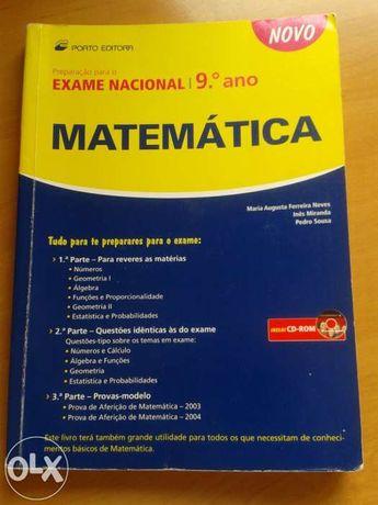 Livro Auxiliar Mat 9ano - Preparação Exames
