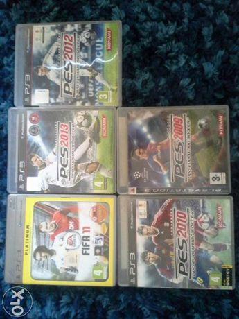 Vários jogos de futebol PS3