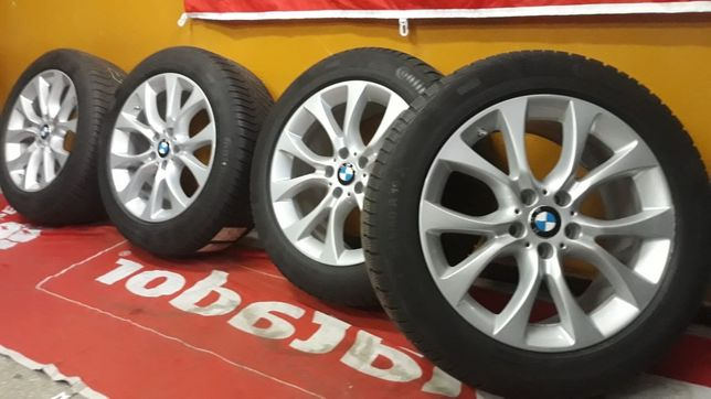 """Koła aluminiowe BMW X5 F15, X6 F16 19"""" 5x120 opony zimowe 255/50/19"""
