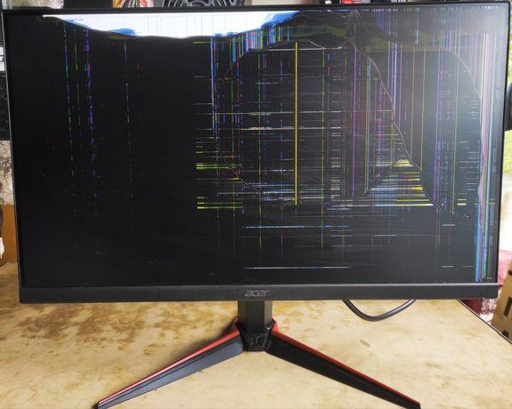 Acer VG 240Y битый монитор