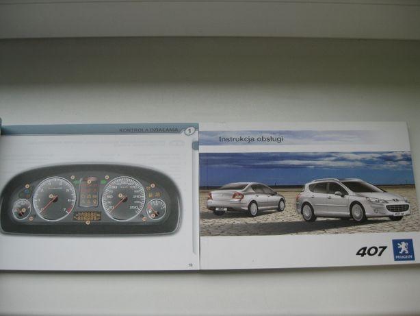 Peugeot 407 Polska instrukcja obsługi Peugeot 407 z GPS