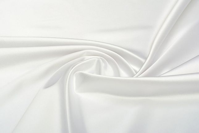 ткань атлас белый. отрез ткани