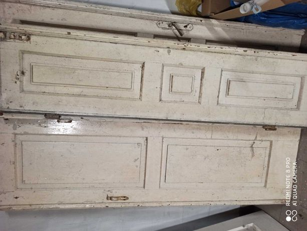 Drzwi drewniane do renowacji