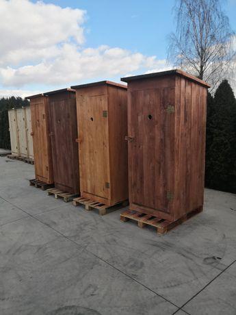 Toaleta Drewniana Zwykła WC Wychodek Ustęp Szybka Realizacja