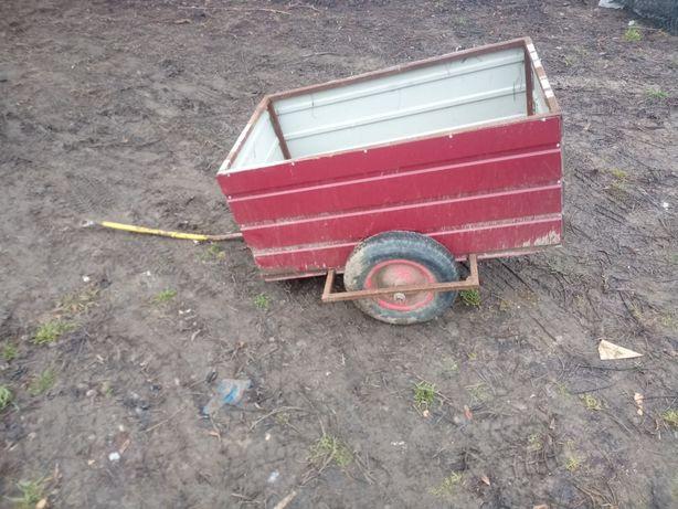 Przyczepka do traktorka 2 sztuki