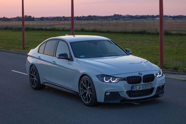 BMW F30 300KM pops&bangs - auto do ślubu imprezę 18-stkę panieński itp